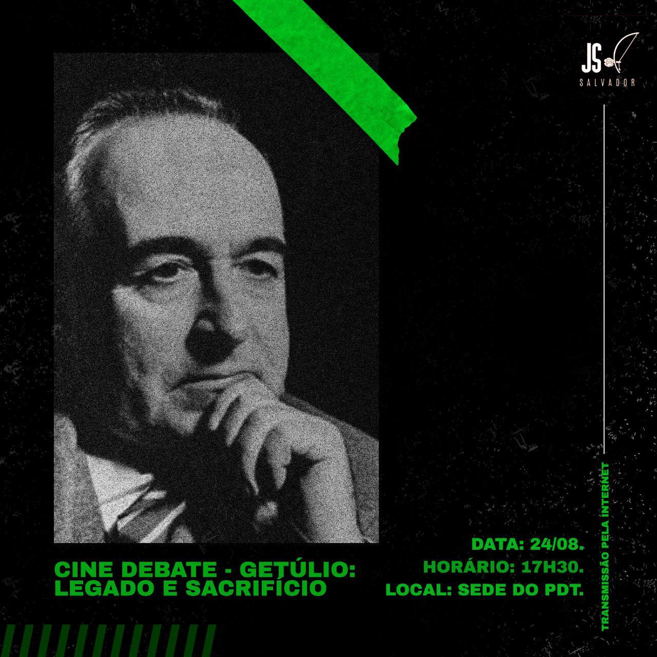 Course Image CINE DEBATE - GETÚLIO VARGAS: LEGADO E SACRIFÍCIO